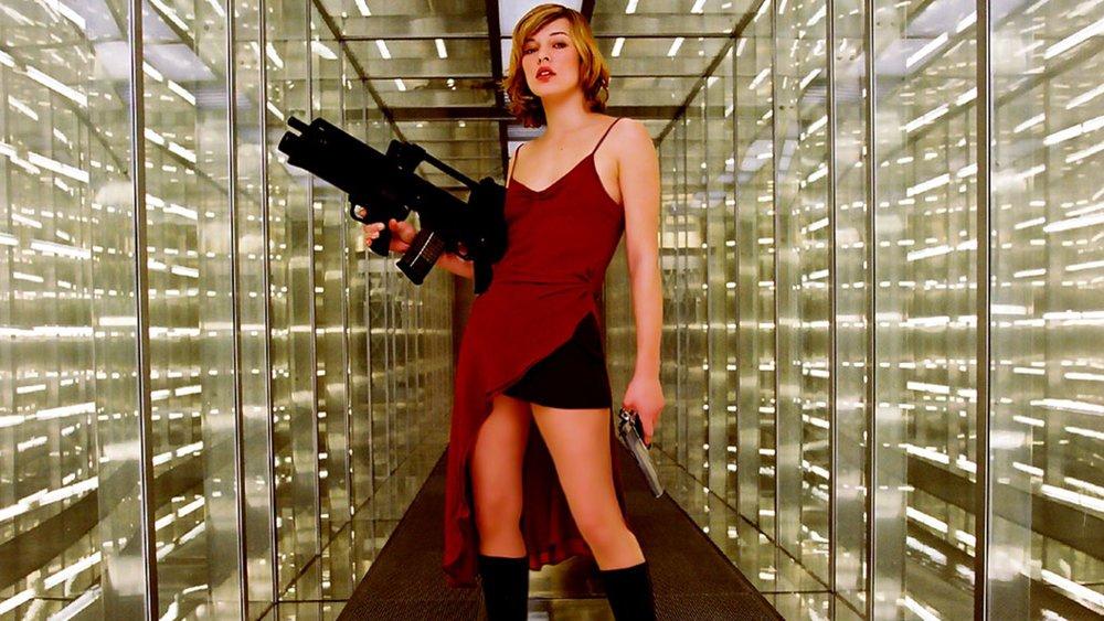 Resident evil movie girl something also