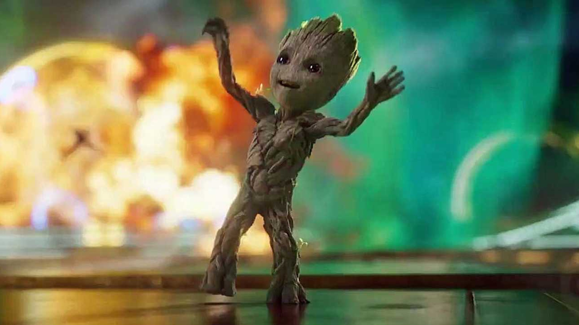 As You May Have Already Heard The Wonderful Baby Groot Dance At The Beginning Of Guardians Of The Galaxy Vol  Actually Came From A Video That James Gunn