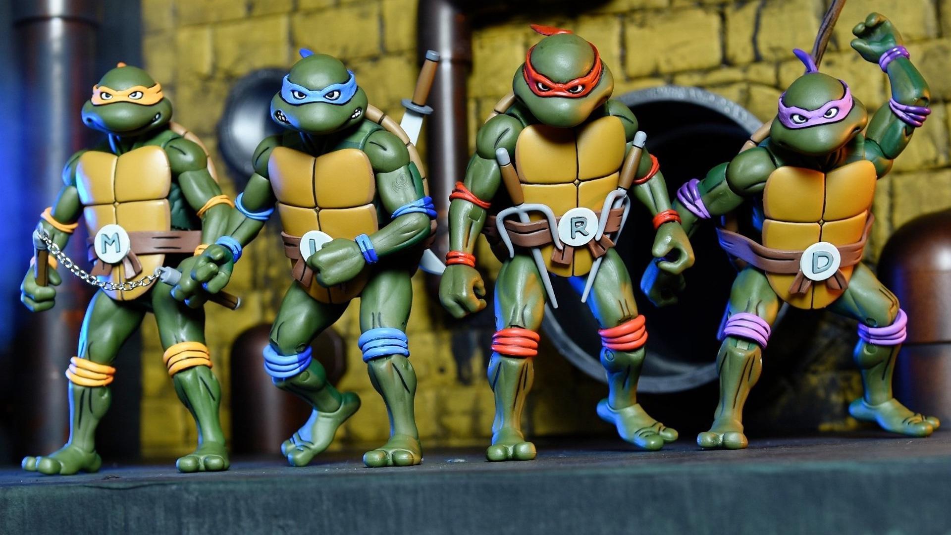 NYCC Neca TMNT Teenage Ninja Turtles Foot Clan Soldier SHREDDER KRAANG Figure