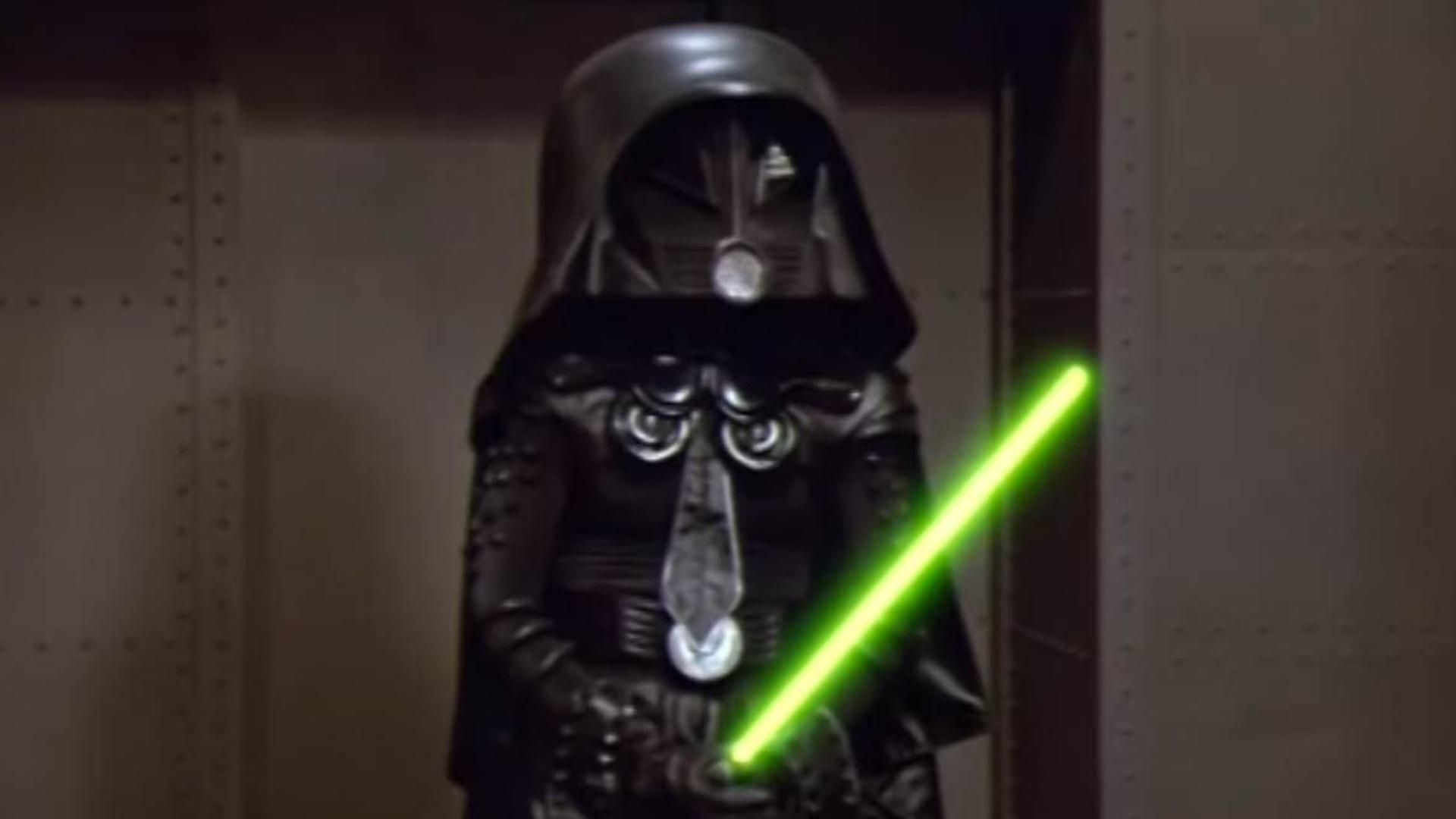 the helmet rick moranis wore as dark helmet in spaceballs is up for