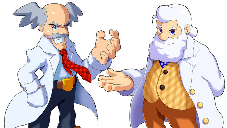funny video shows the secret history of dr. wily and dr. light