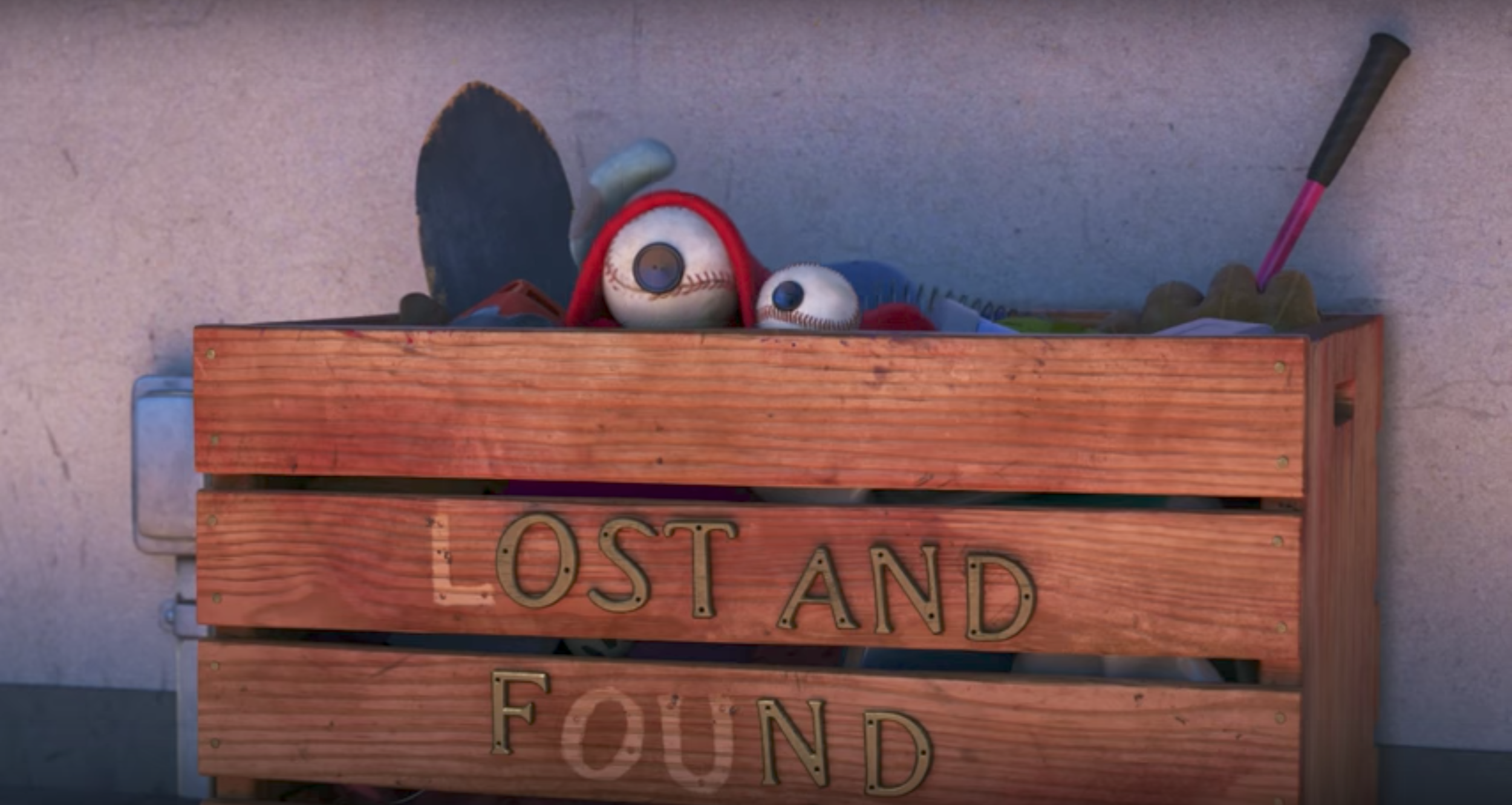 clip released for pixar's new animated short film lou — geektyrant