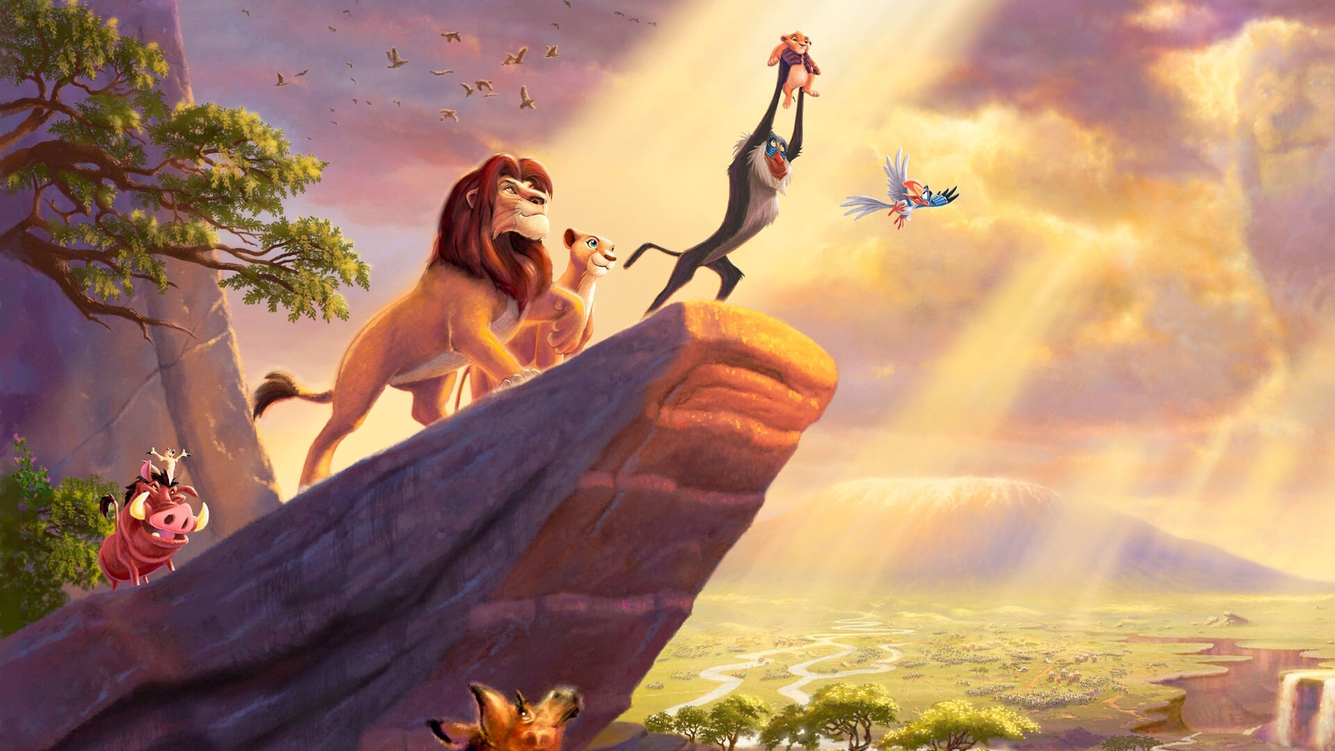 Stunning Footage Of Jon Favreau S The Lion King Screened At D23 And