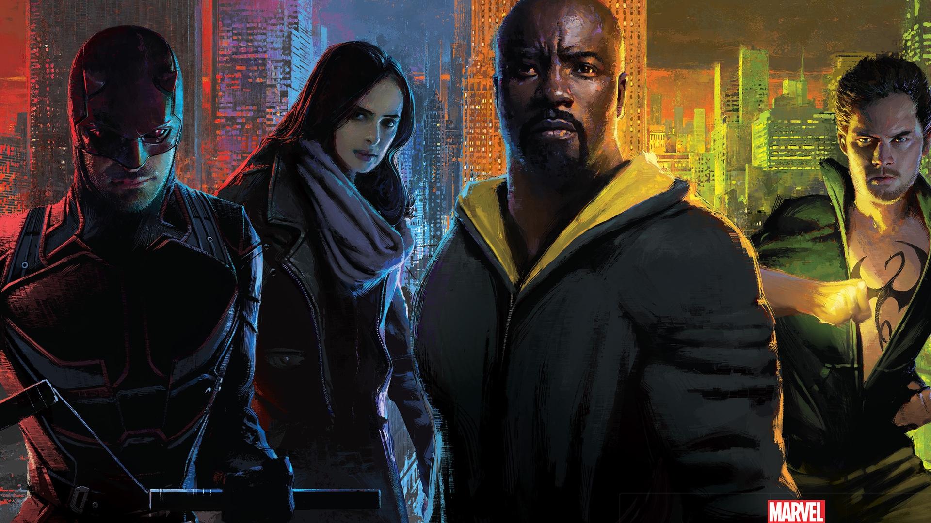 Badass New Trailer For Marvel's THE DEFENDERS — GeekTyrant