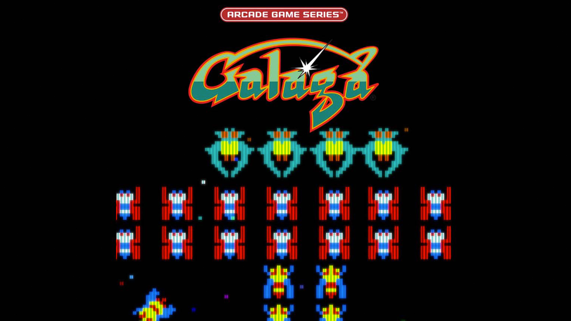 the classic arcade game galaga is being made into animated series