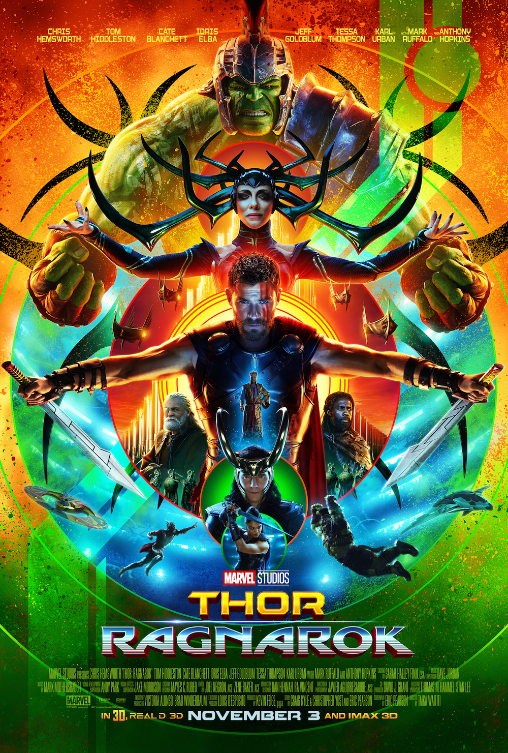 Marvel Reveals New Posters For Black Panther And Thor