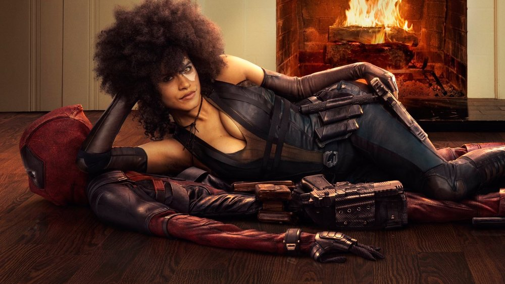 Here S Our First Look At Zazie Beetz As Domino In Deadpool