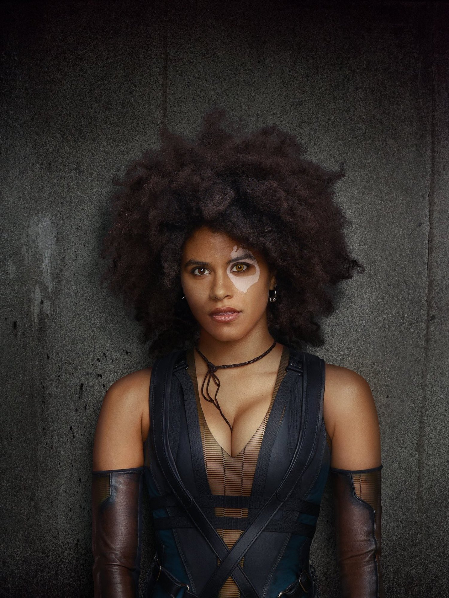 New Photo Of Zazie Beetz As Domino In Deadpool 2 Gives Us A Closer Look Geektyrant