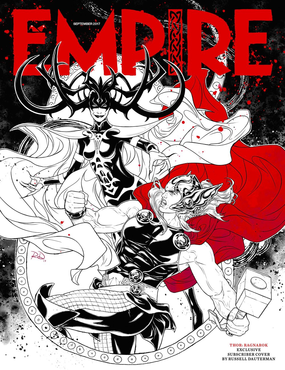 Empire subscriber cover Thor.jpg