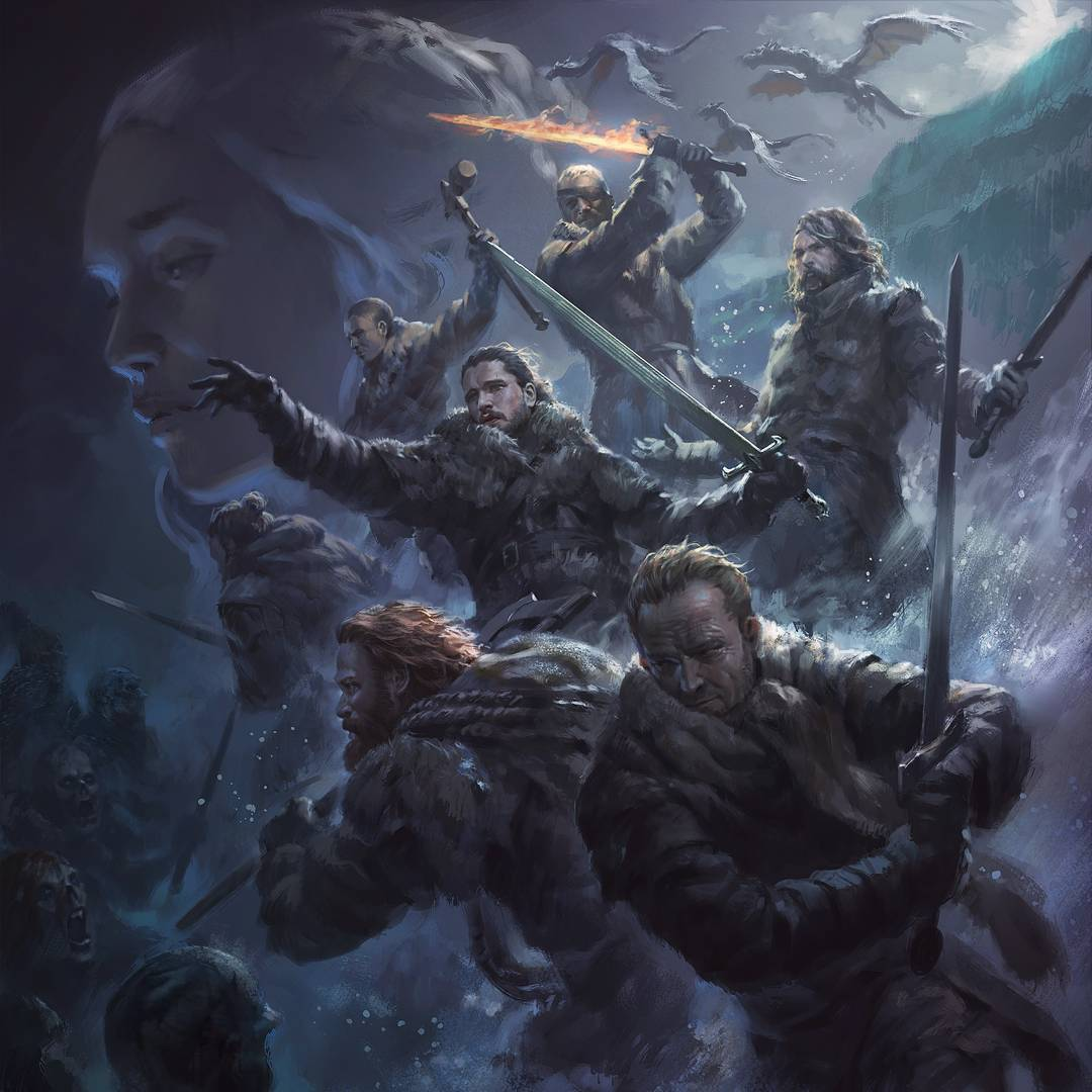 Wicked Cool Game Of Thrones Fan Art Suicide Mission Geektyrant