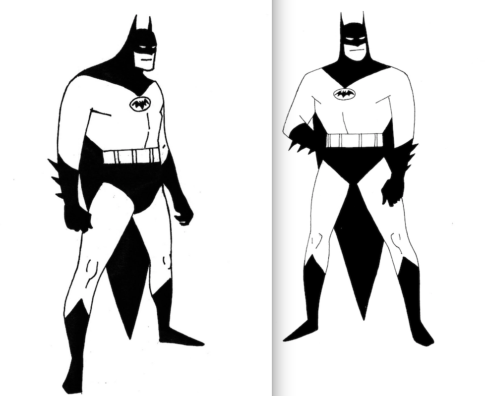 cool-early-character-designs-for-batman-the-animated-series1