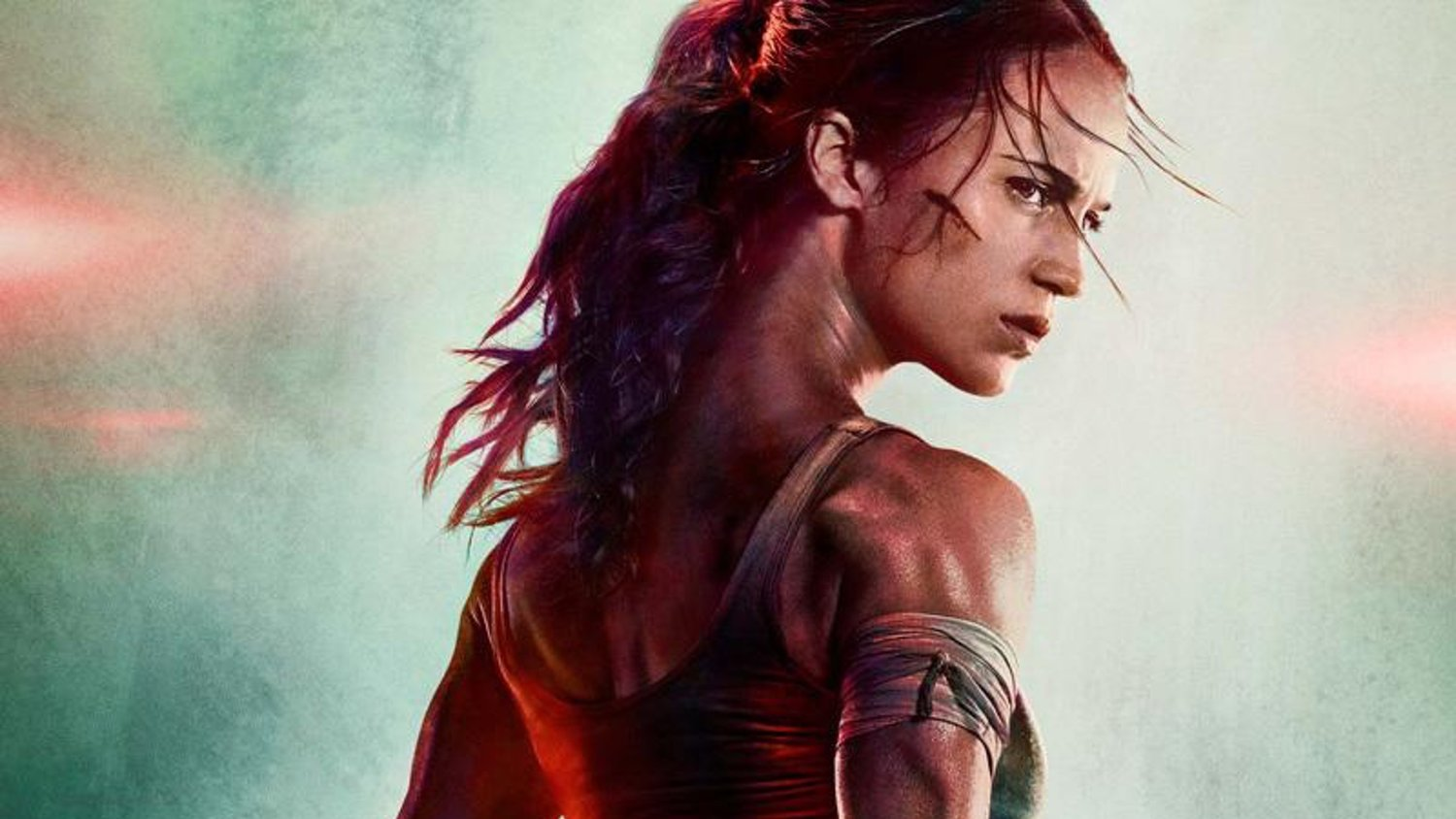 a040a3cf8507c8 Alicia Vikander Looks Badass as Lara Croft in First Poster and Teaser For TOMB  RAIDER