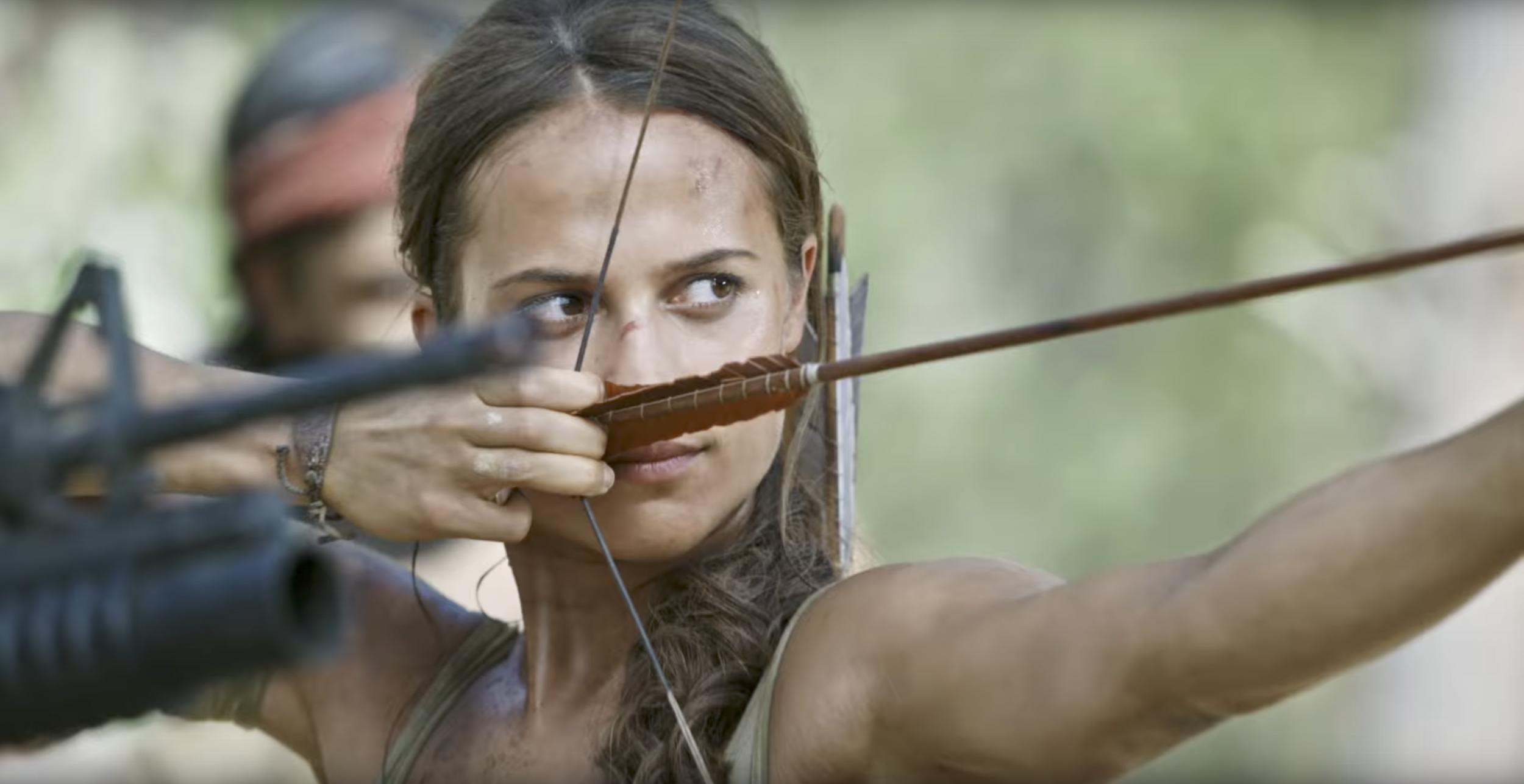 5f42331e0762ce TOMB RAIDER s Alicia Vikander Shows How She Becomes Lara Croft in ...
