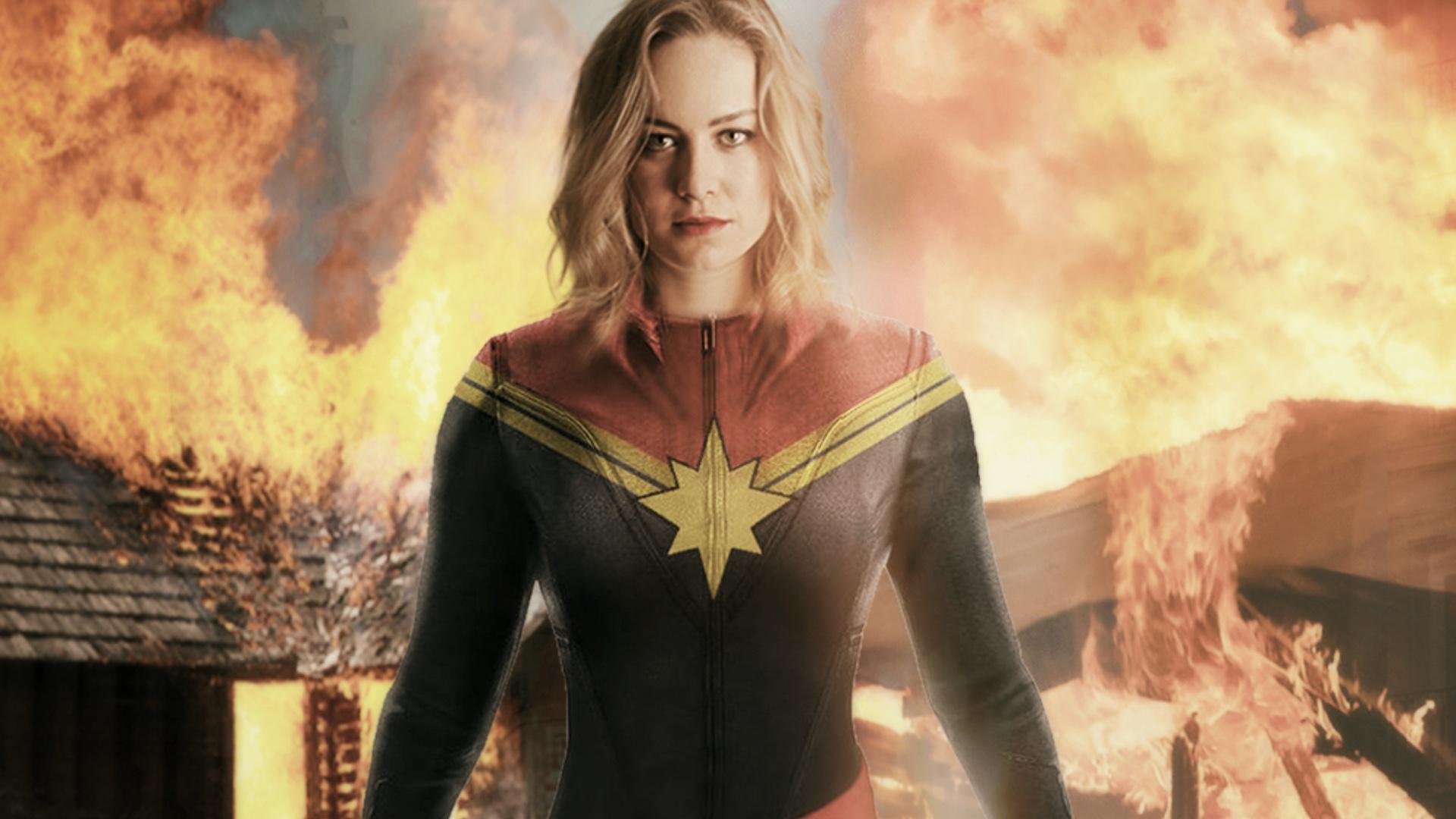 Captain Marvel Movie Wallpaper 1920x1080