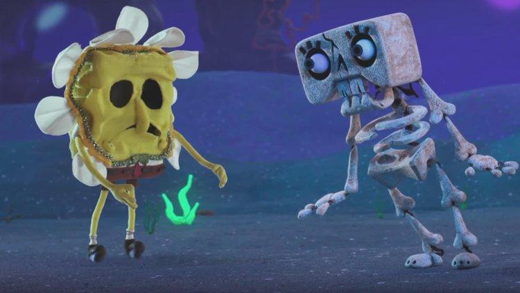 Trailer For The SPONGEBOB SQUAREPANTS Stop-Motion Halloween Special ...