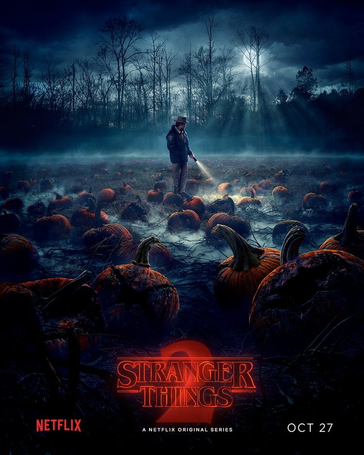 STRANGER THINGS Season 2 Gets a Perfectly Cool Halloween-Themed ...