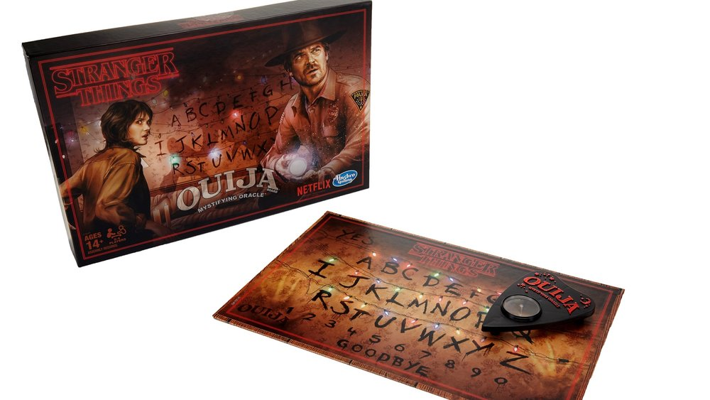 Stranger Things Themed Ouija Board And Monopoly Board