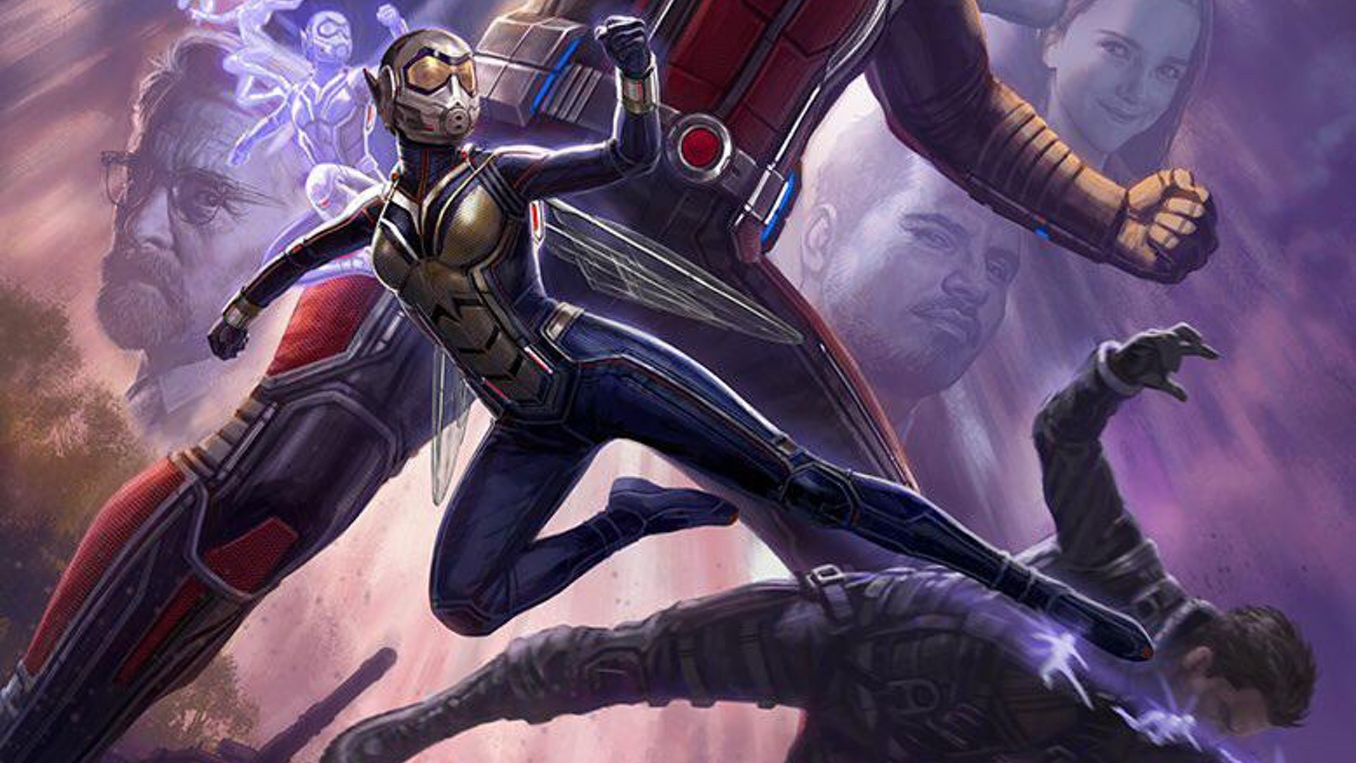 new set photos from ant man and the wasp feature ant man the wasp