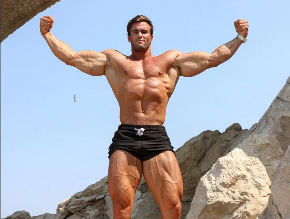 Mr Universe Calum Von Moger is Set to Play Arnold Schwarzenegger