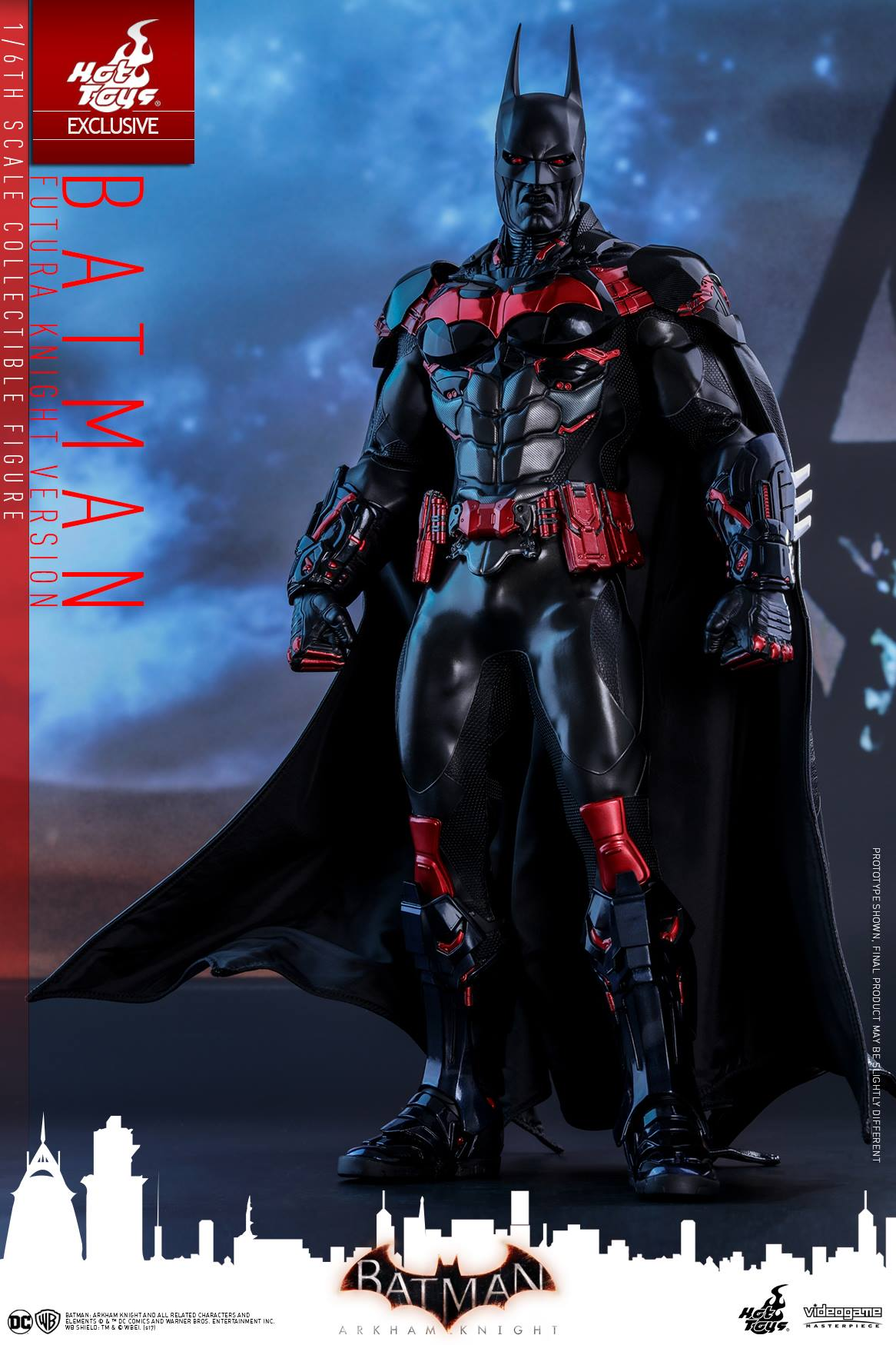 Hot Toys Reveals Their Incredible Batman Beyond Action Figure From