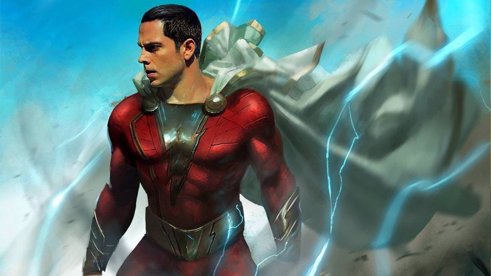 zachary levi comments on playing shazam and we have some