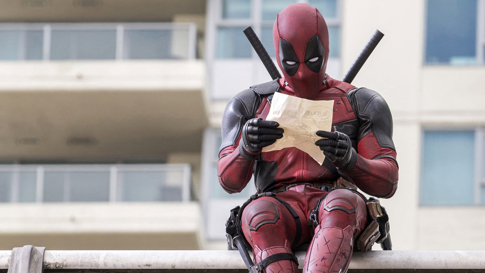 Deadpool in reference to superheroes