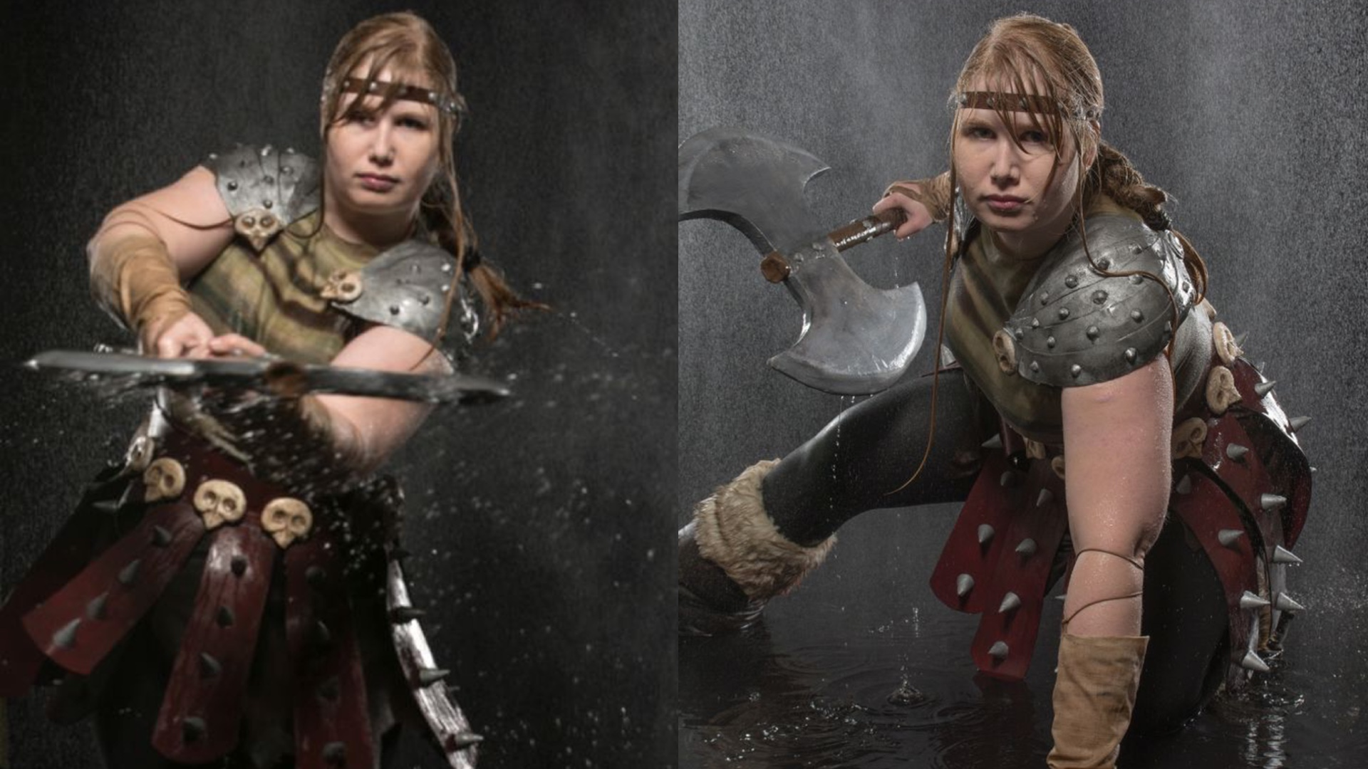 This how to train your dragon astrid cosplay slays geektyrant shelby from cosplay edda designed and made this amazing cosplay of astrid from the how to train your dragon series not only is the costume on point ccuart Image collections
