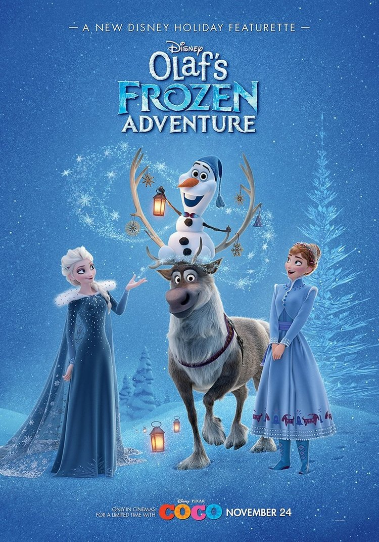 OLAF\'S FROZEN ADVENTURE is a Magical Holiday Treat That Celebrates ...