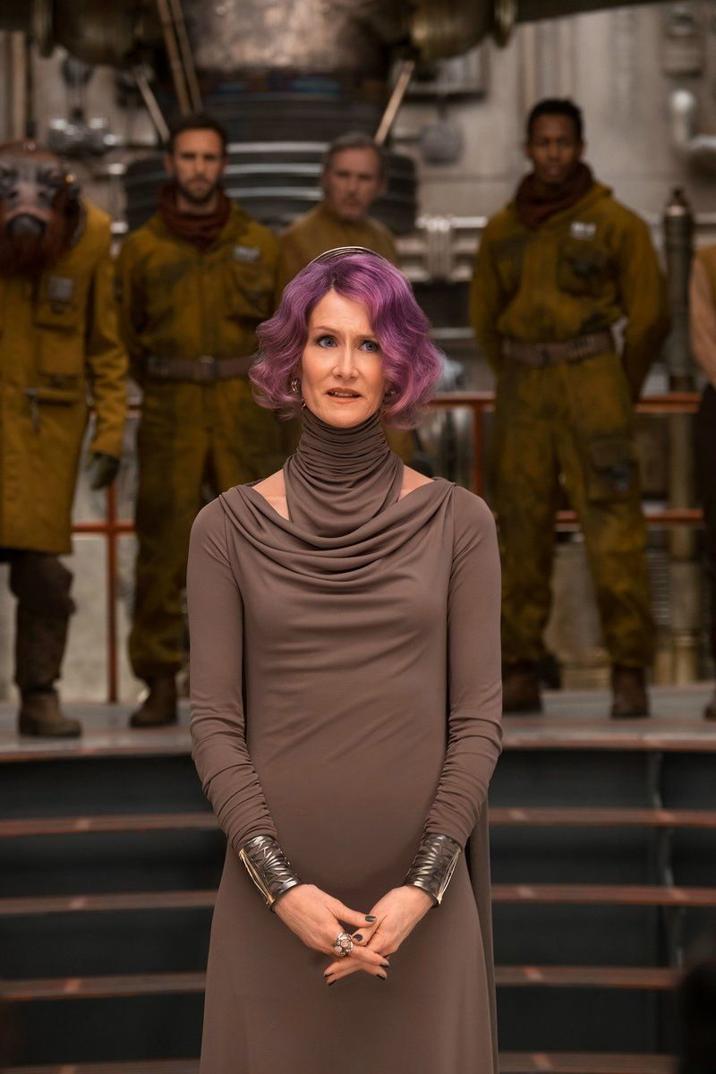 Laura Dern as Vice Admiral Amilyn Holdo