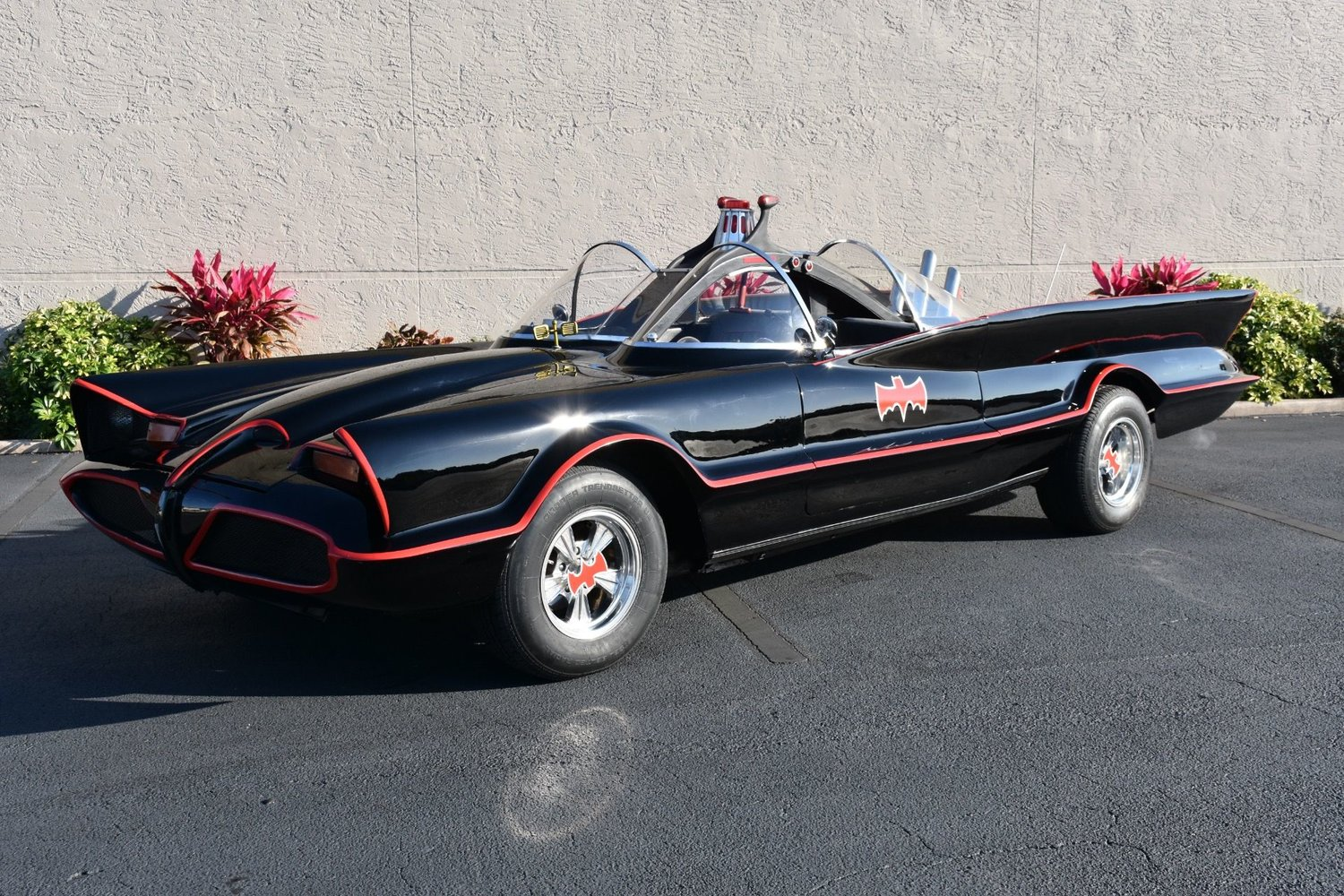 This Drivable Replica of Adam West\'s Batmobile Complete with Bat ...