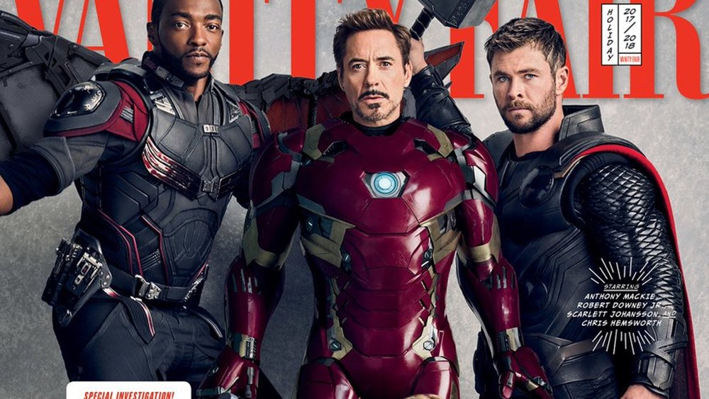 Avengers Infinity War Vanity Fair Covers Photos And The