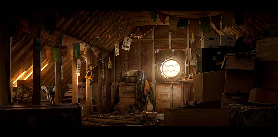 Drakes-attic
