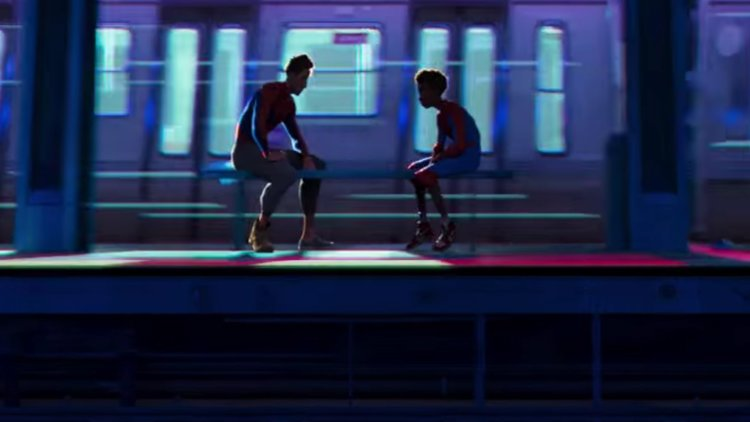 Image result for into the spider verse peter parker