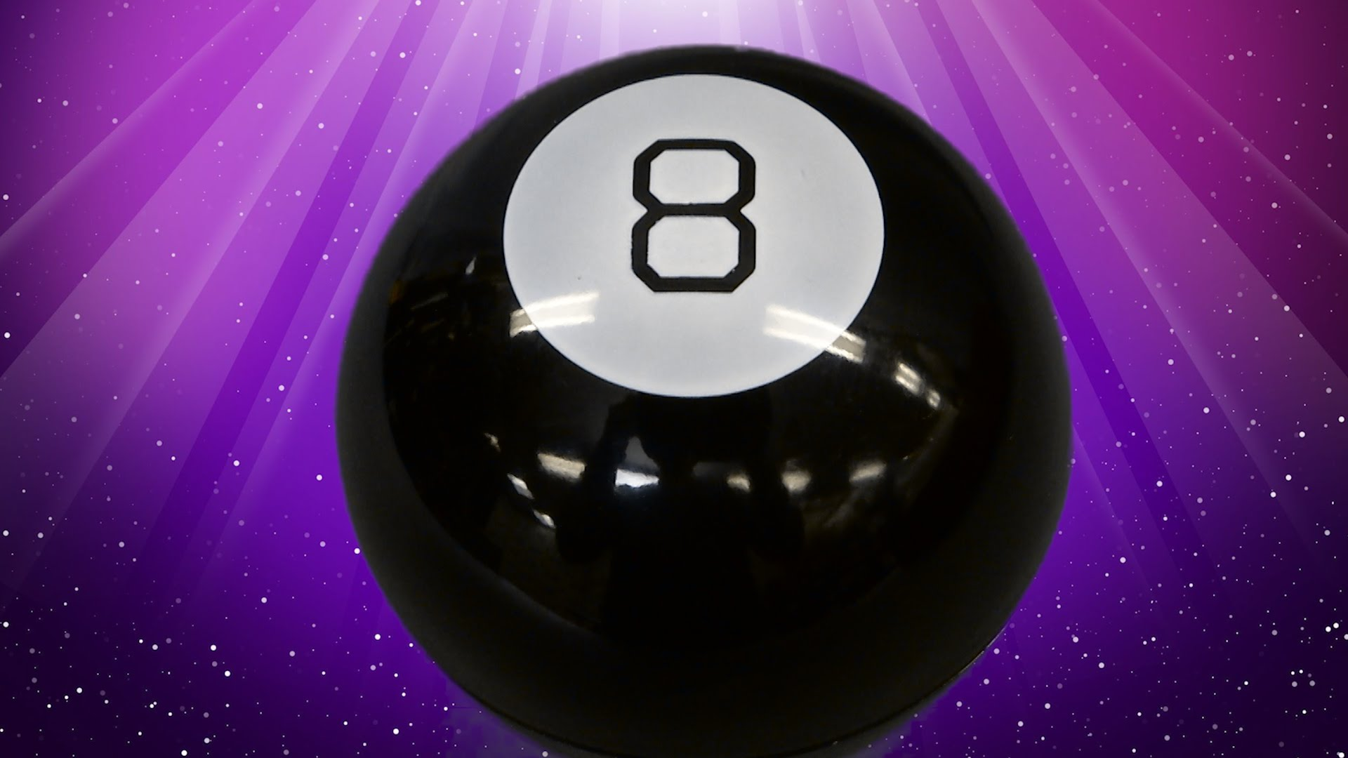 you can get a giant magic 8 ball just before the holidays for a