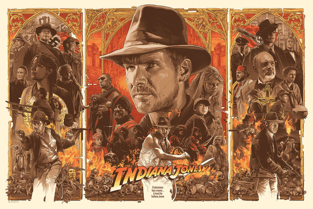 incredibly-cool-indiana-jones-trilogy-triptych-poster-art1