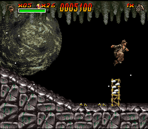 Many famous scenes were recreated in this classic platforming adventure
