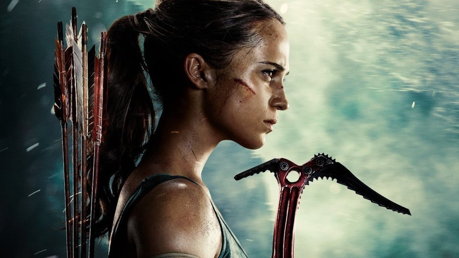 fcac7bef88a6c0 New TOMB RAIDER Photos Feature Alicia Vikander in Action as Lara ...