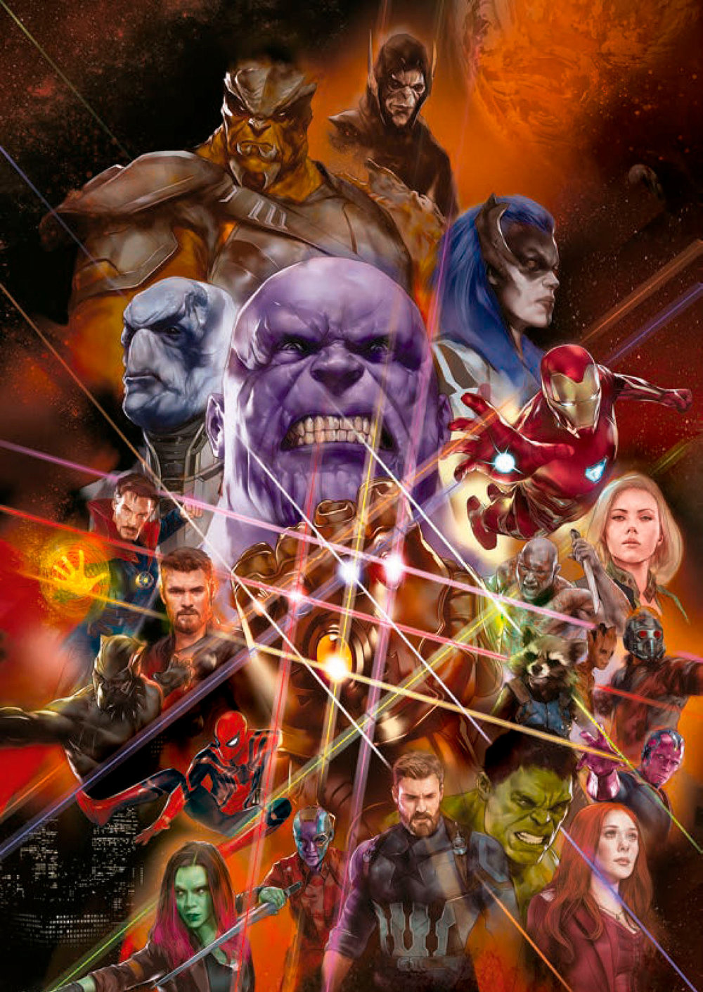 New AVENGERS: INFINITY WAR Promo Art Brings Together All The Heroes and Villains33