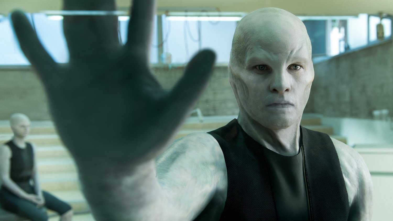 Sam Worthington is Transformed into an Enhanced Super Human in