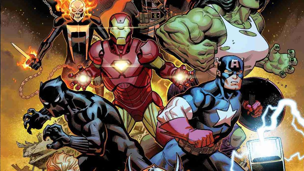 marvel comics reveals their new avengers superhero roster geektyrant - Avengers Marvel