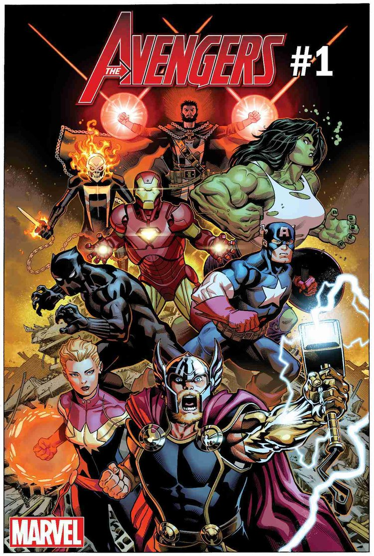 Marvel Comics Reveals Their New Avengers Superhero Roster2