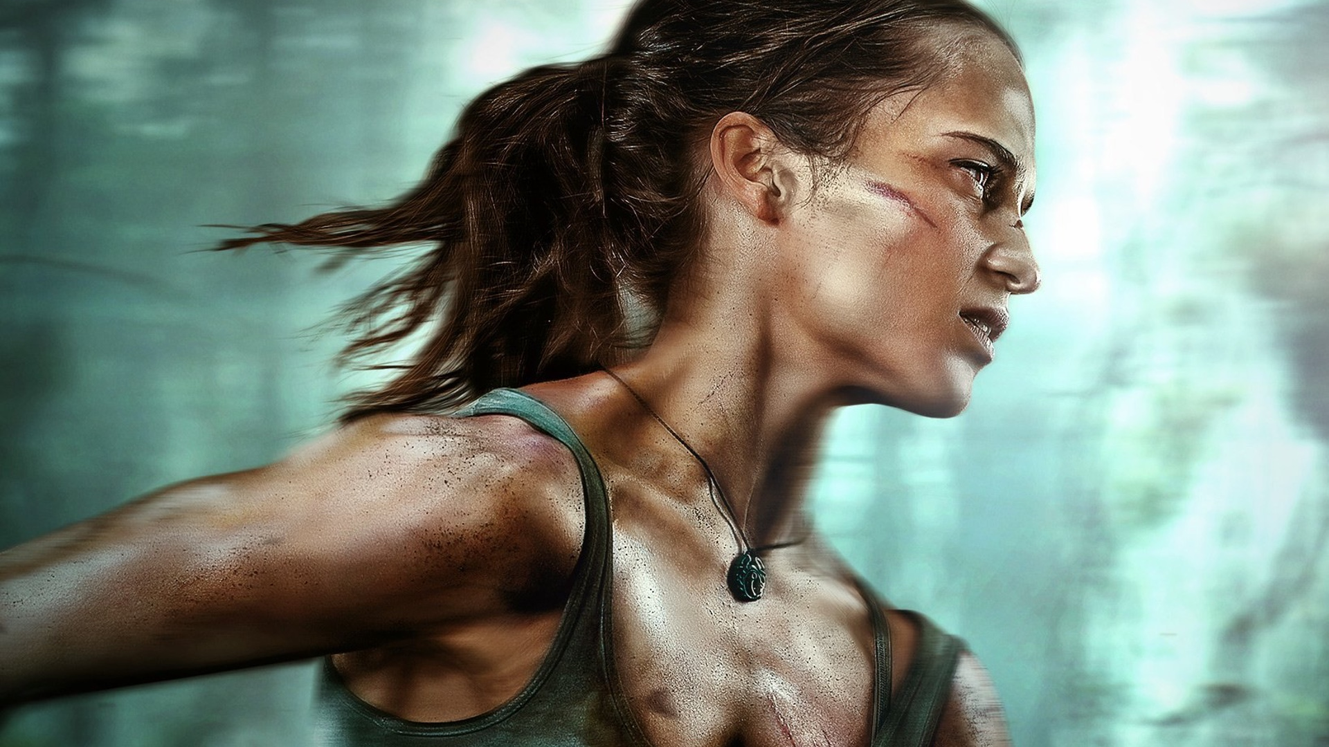 5b20cb44d4c478 Lara Croft Finds Herself in Ocean Danger in Action-Packed Clip From TOMB  RAIDER-