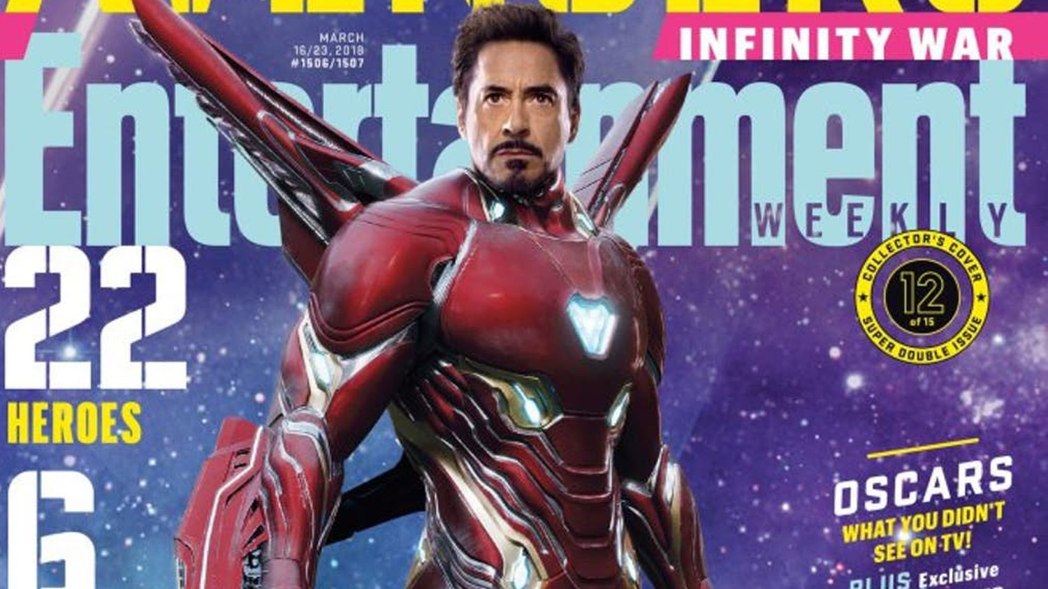 22 AVENGERS: INFINITY WAR Characters Featured on 15 EW