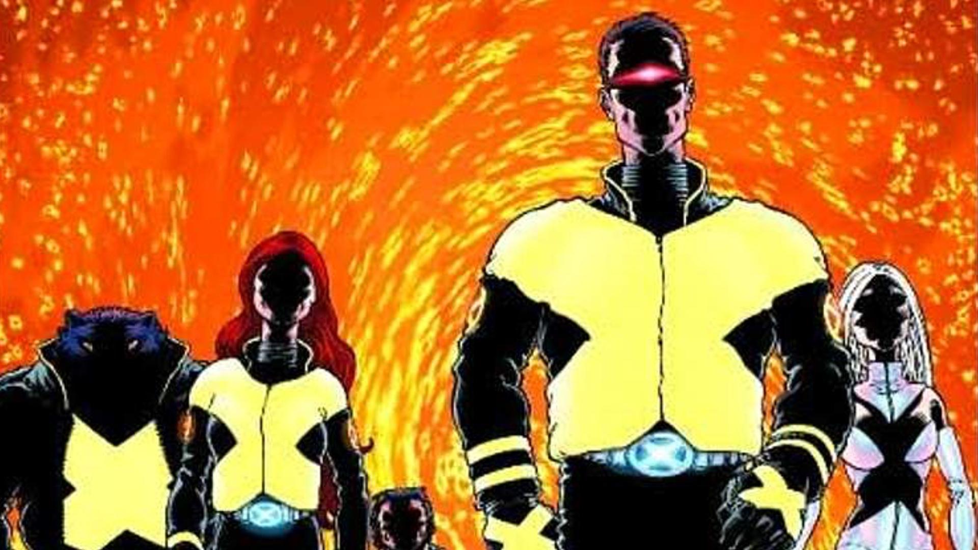 X Men Dark Phoenix Set Photo Shows Us The Team In Their Comic