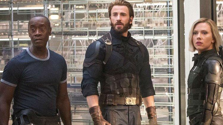 avengers infinity war scene description focuses on the - The Avengers