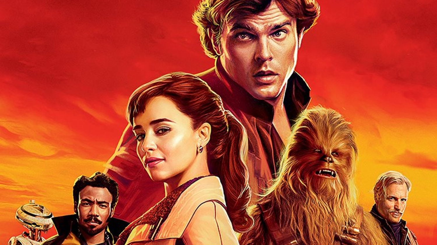Looks Like The Posters For SOLO: A STAR WARS STORY Ripped