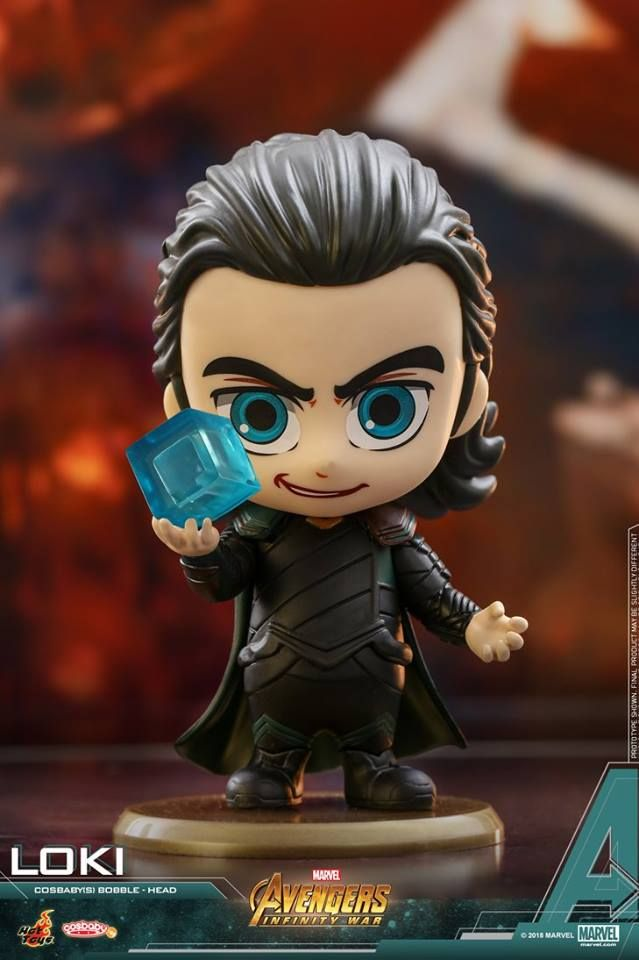 Hot Toys New Avengers Infinity War Cosbaby Figures Are