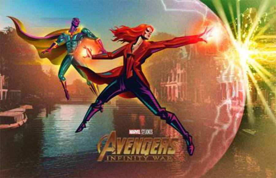 Epic Poster Released For AVENGERS: INFINITY WAR Packs In A
