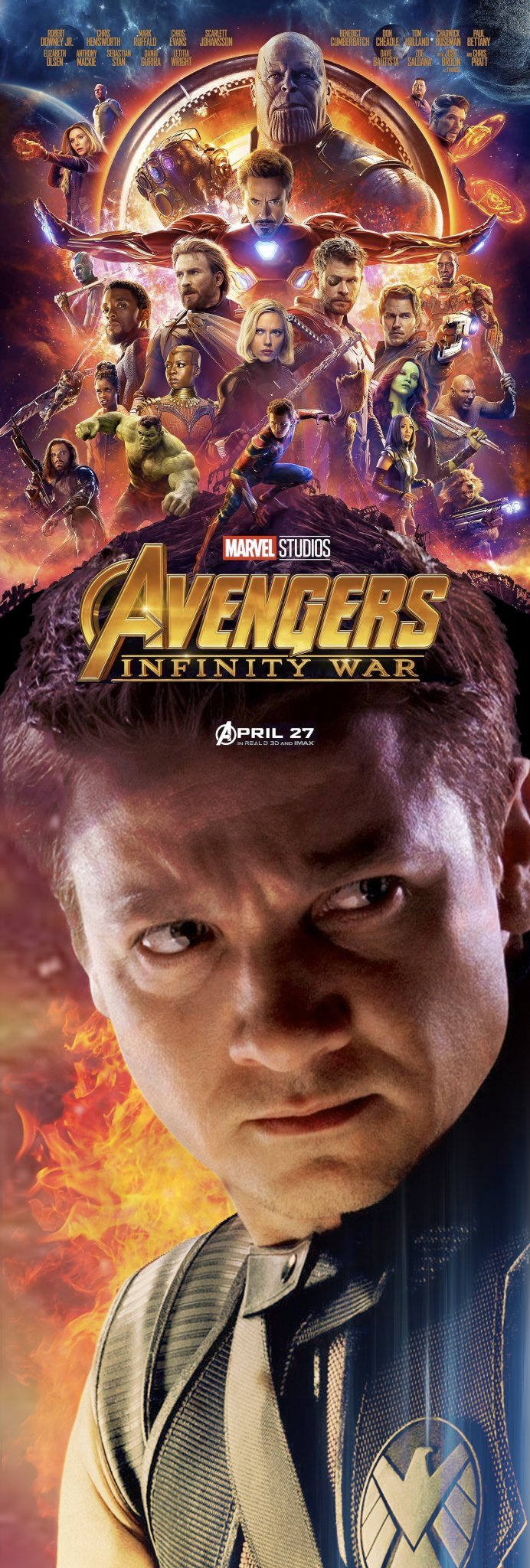 These Fan Made Avengers Infinity War Posters Make Up For