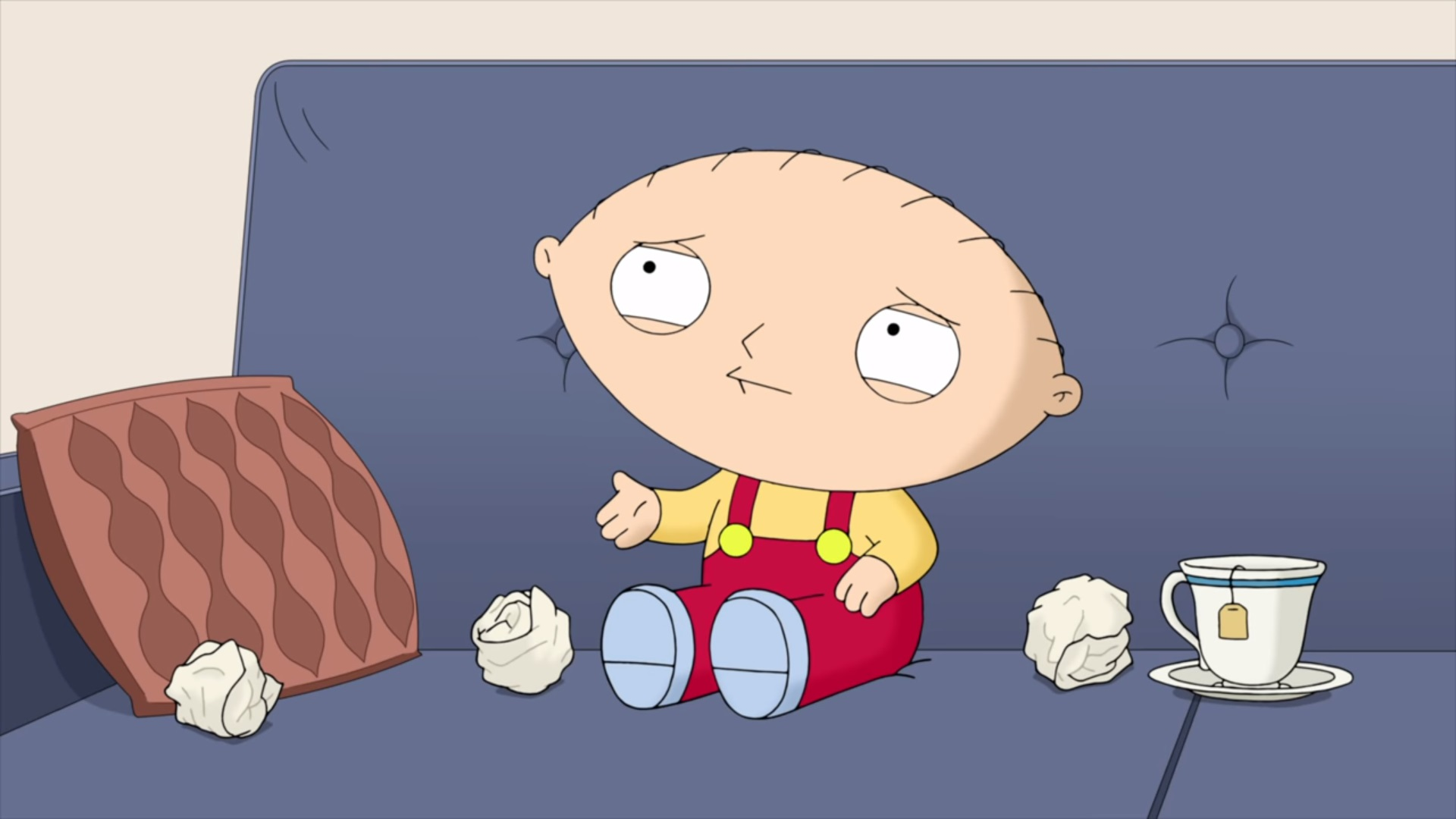 Stewie talks with his real voice in new family guy clip geektyrant i havent watched a new episode of family guy in years but i instantly clicked on this video because it held the answer to a question ive wondered for a thecheapjerseys Image collections